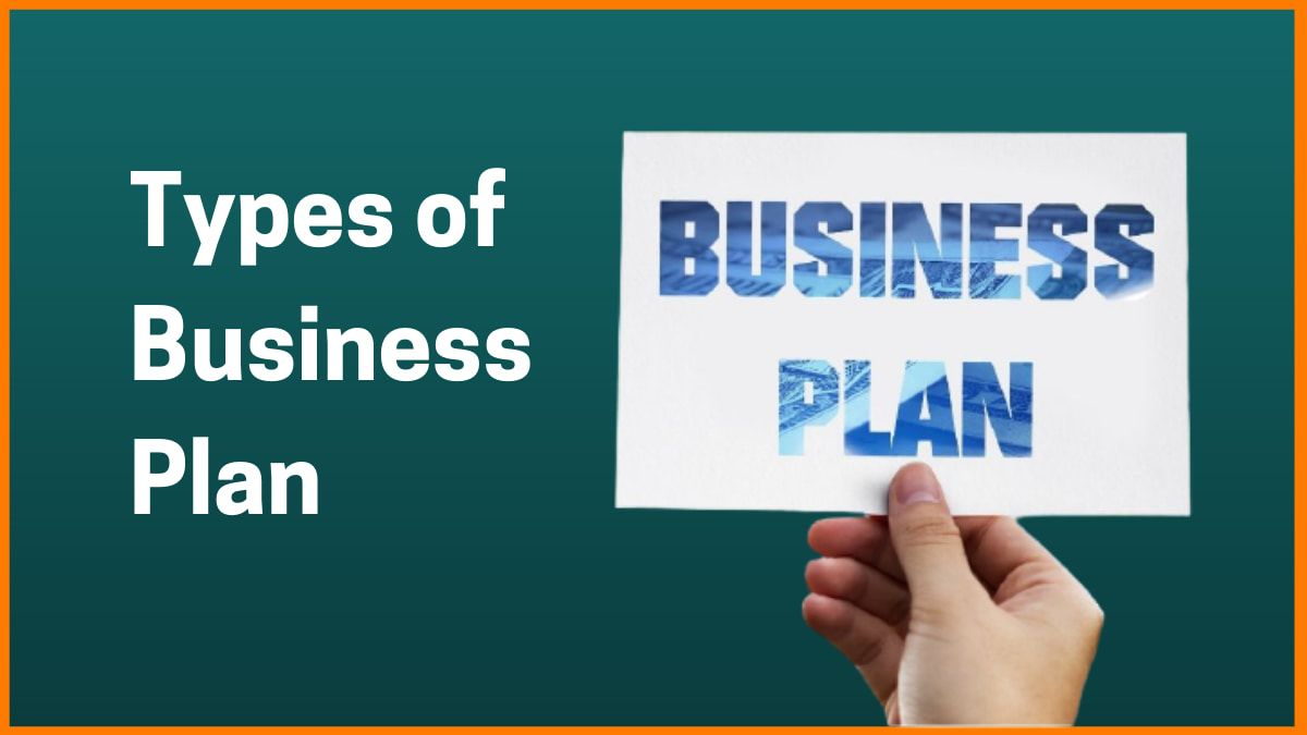 10 Types of Business Plan