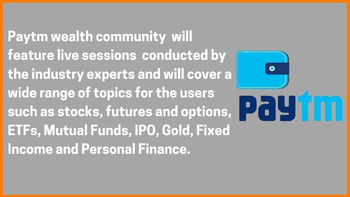 Paytm Wealth Community
