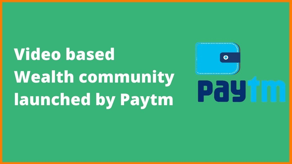 What is the New Community Platform Launched by Paytm for Learning Investment