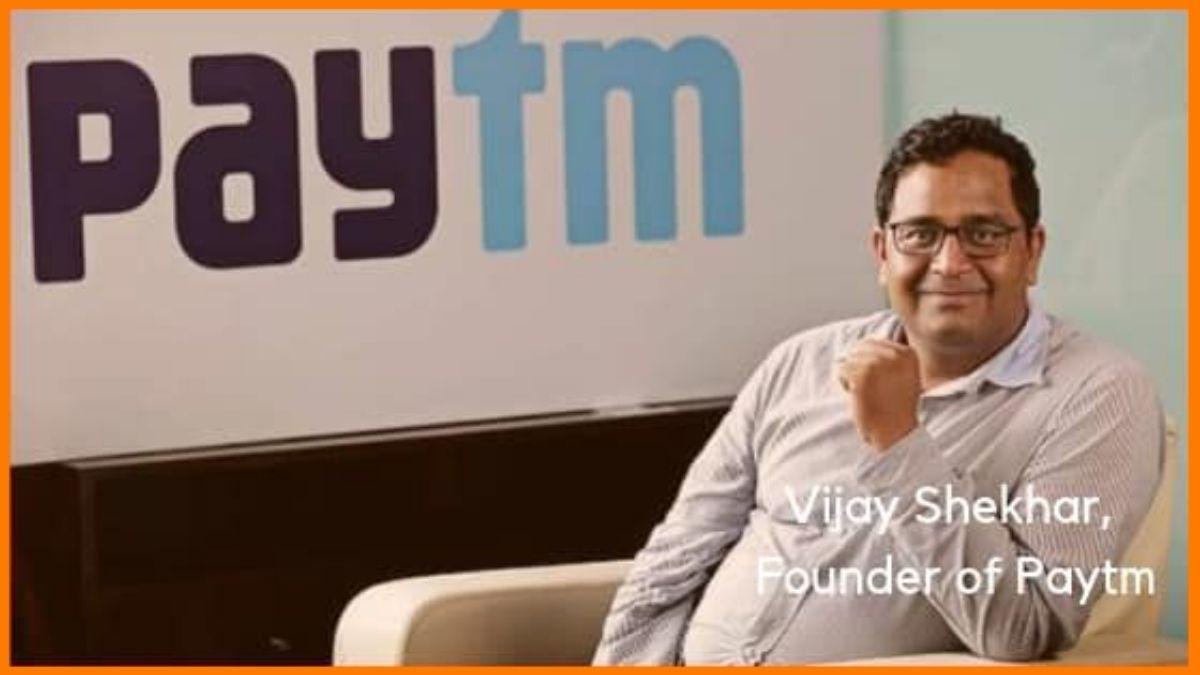 Vijay Shekhar Sharma, founder of Paytm   Successful Indian Entrepreneur