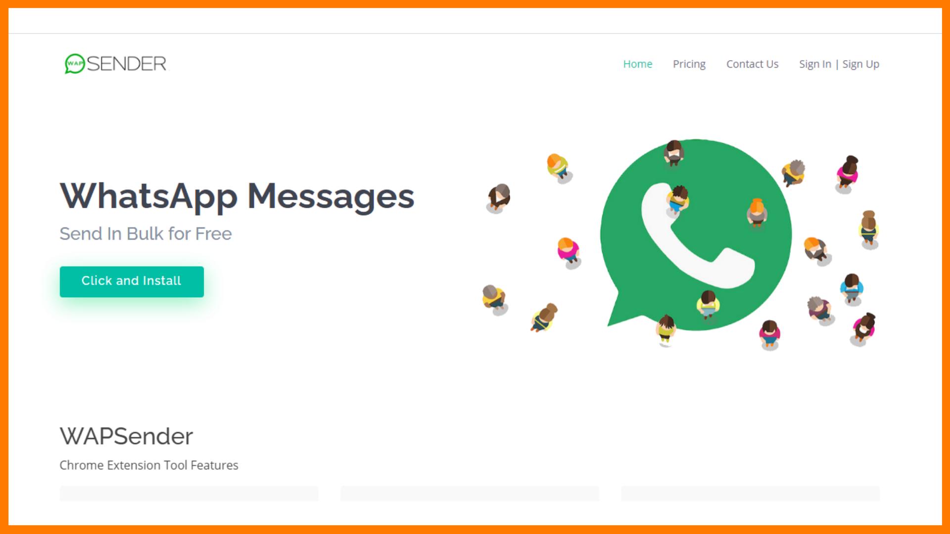 Wapsender Bulk WhatsApp Sender