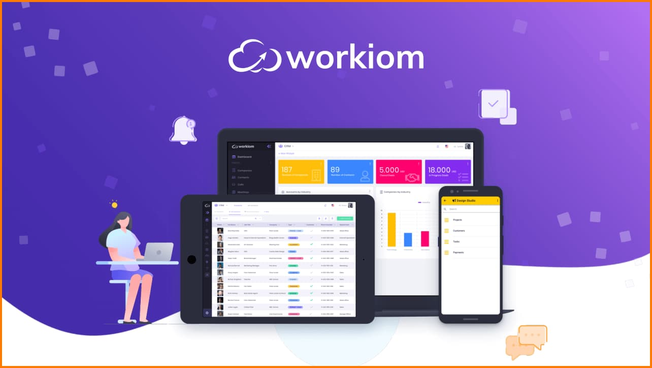 Workiom can be used on all devices