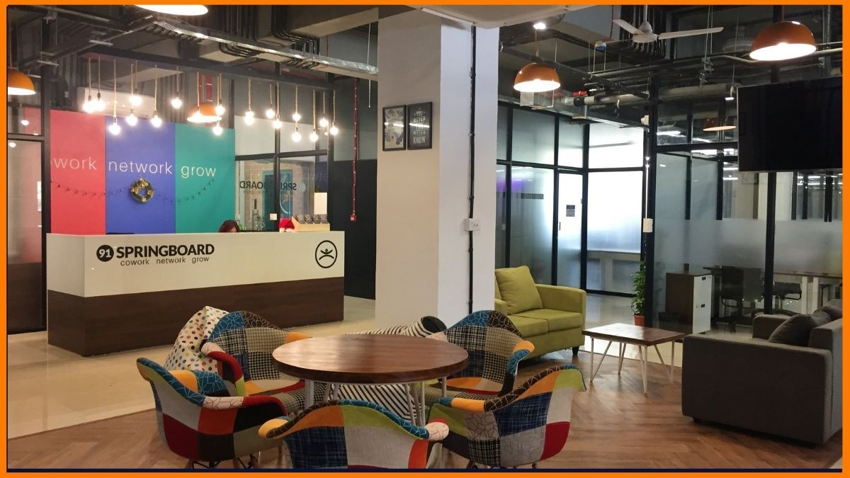 91SpringBoard Coworking Space in India