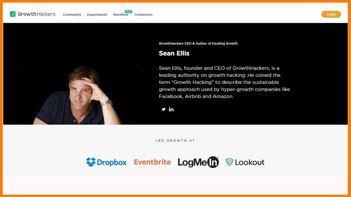 Growth Hackers Website