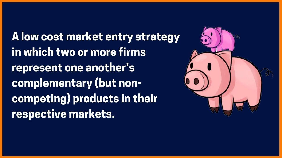 Piggyback marketing