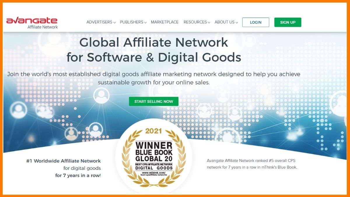 Avangate Affiliate Network Website