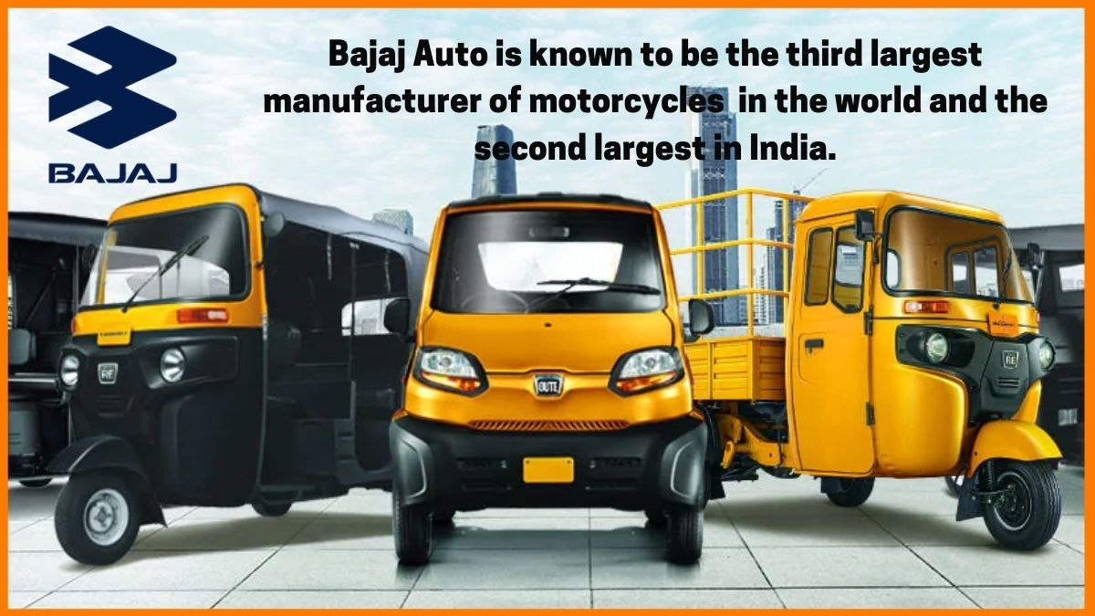 Bajaj Auto popular three wheeler