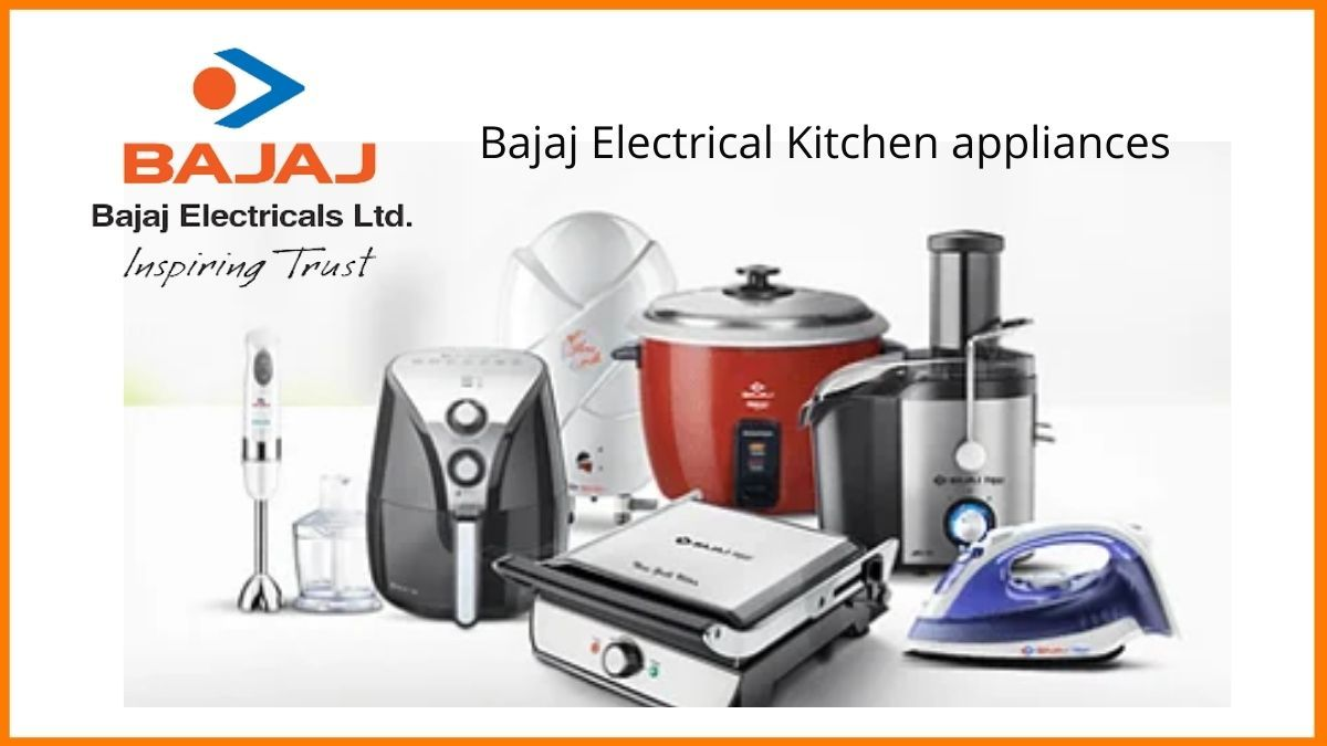 The Bajaj electrical home appliances
