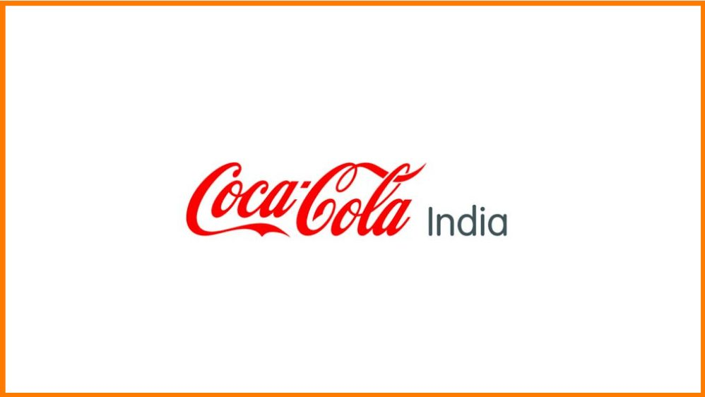 Logo of Coca-Cola India