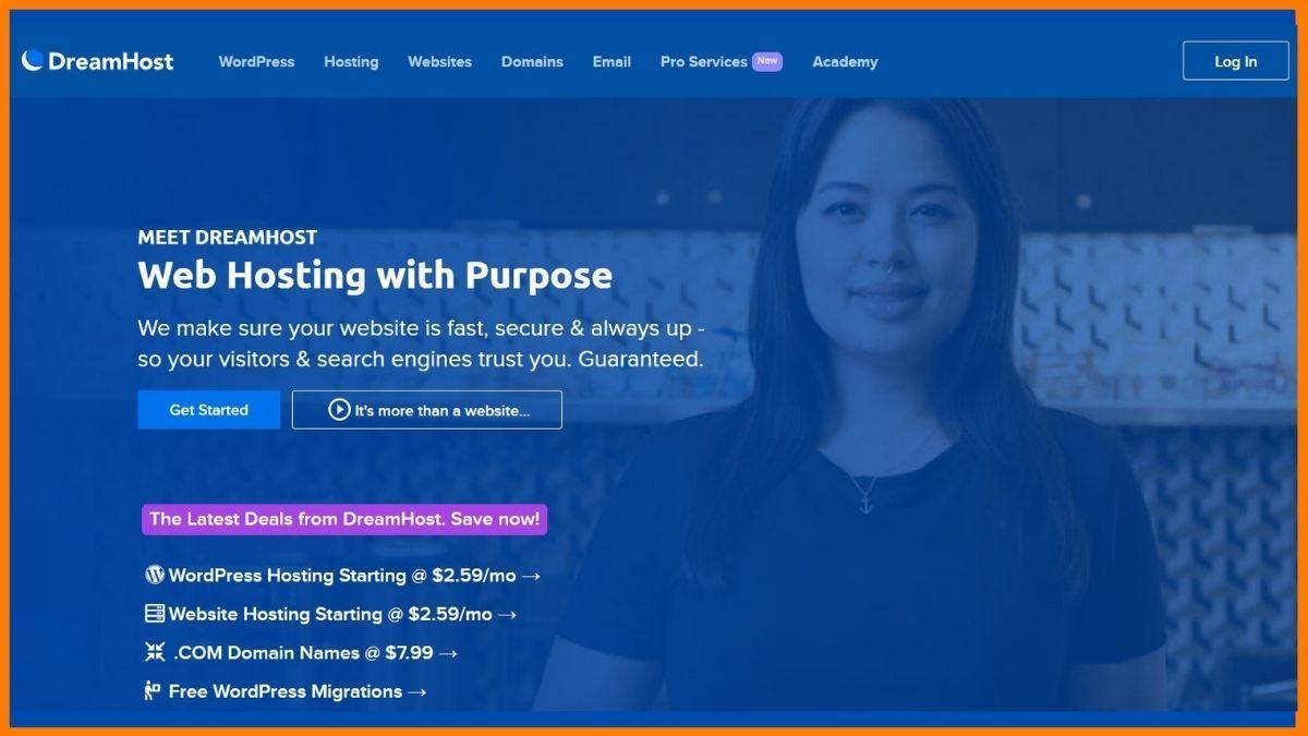 Dreamhost Website