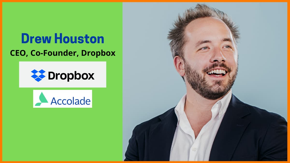 Drew Houston—CEO & Co-Founder of Dropbox | Internet Entrepreneur