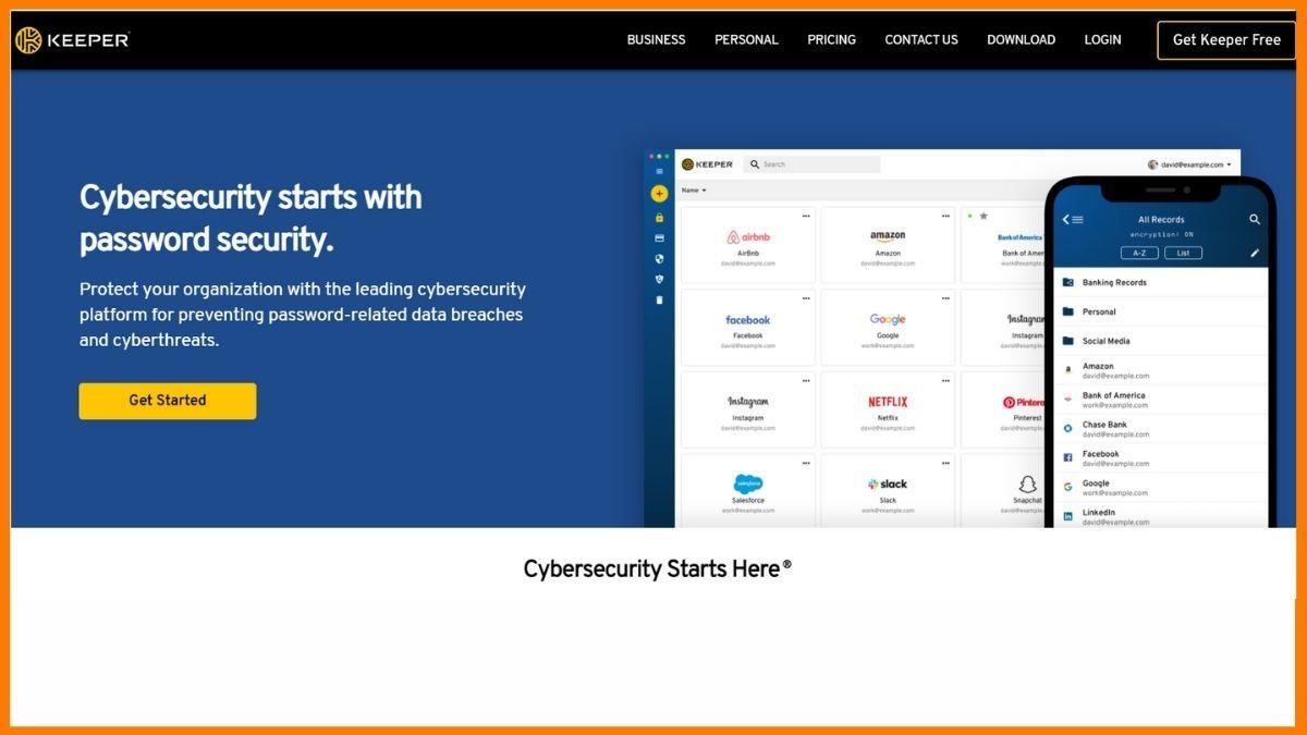 Keeper Website