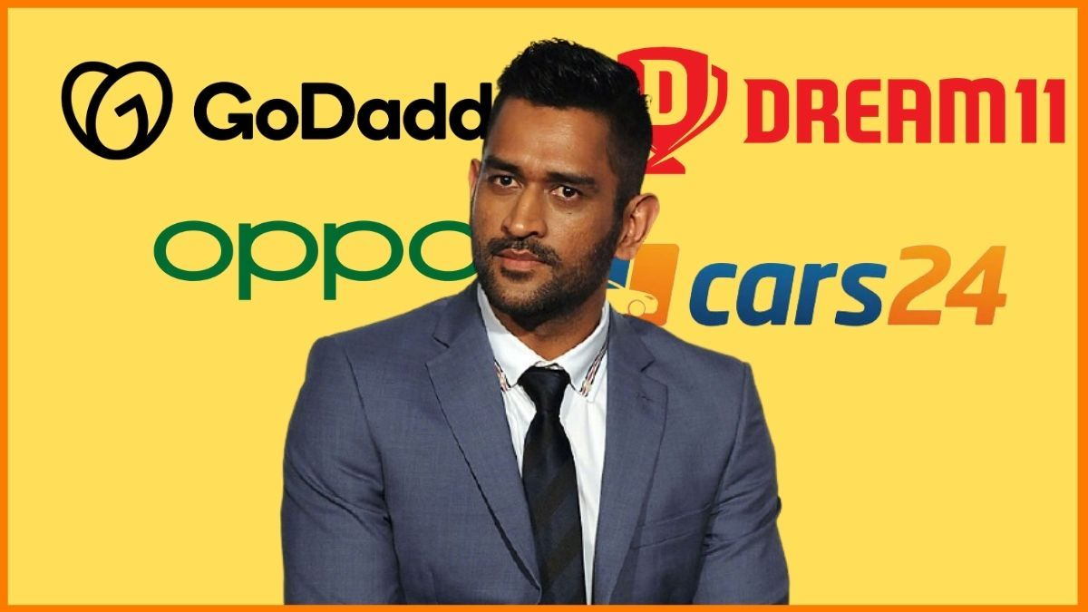 List of Brands Endorsed By MS Dhoni