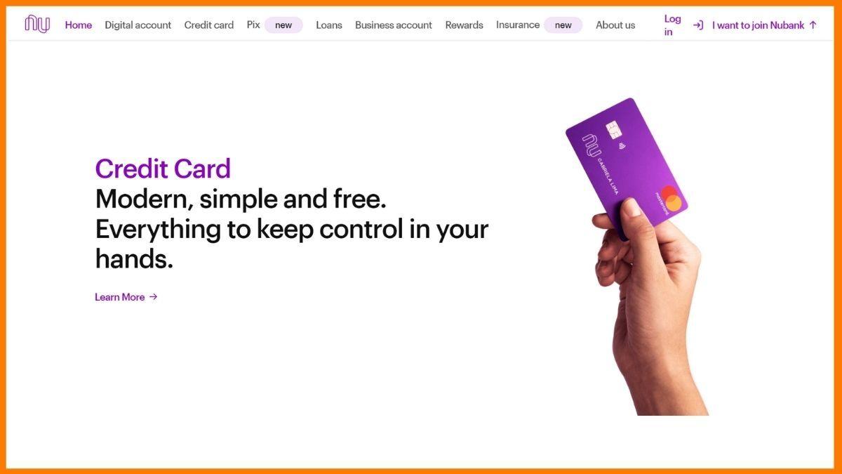 Nubank Website