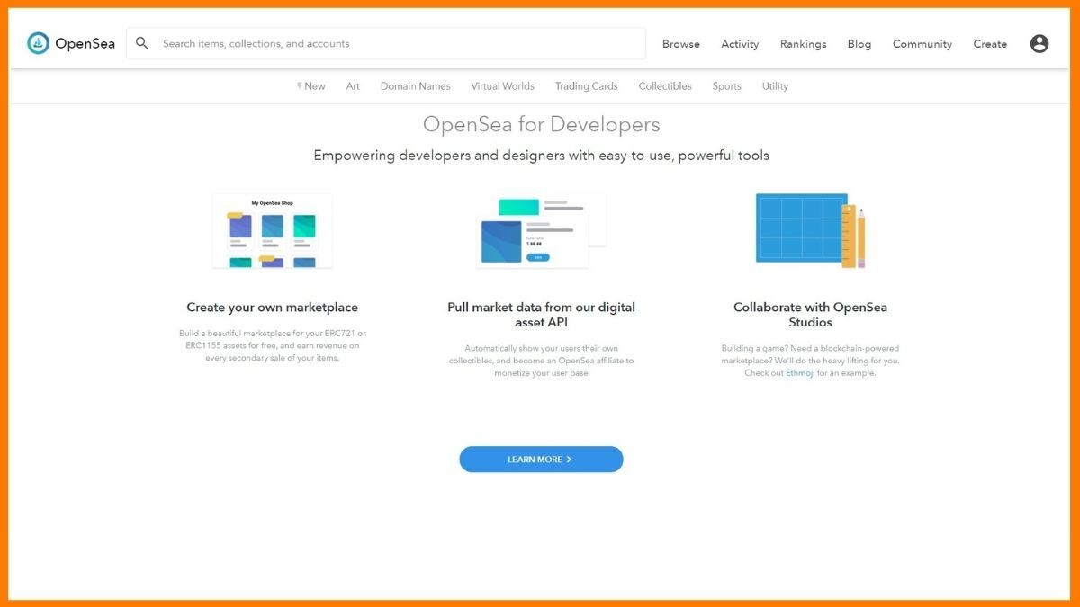OpenSea Website