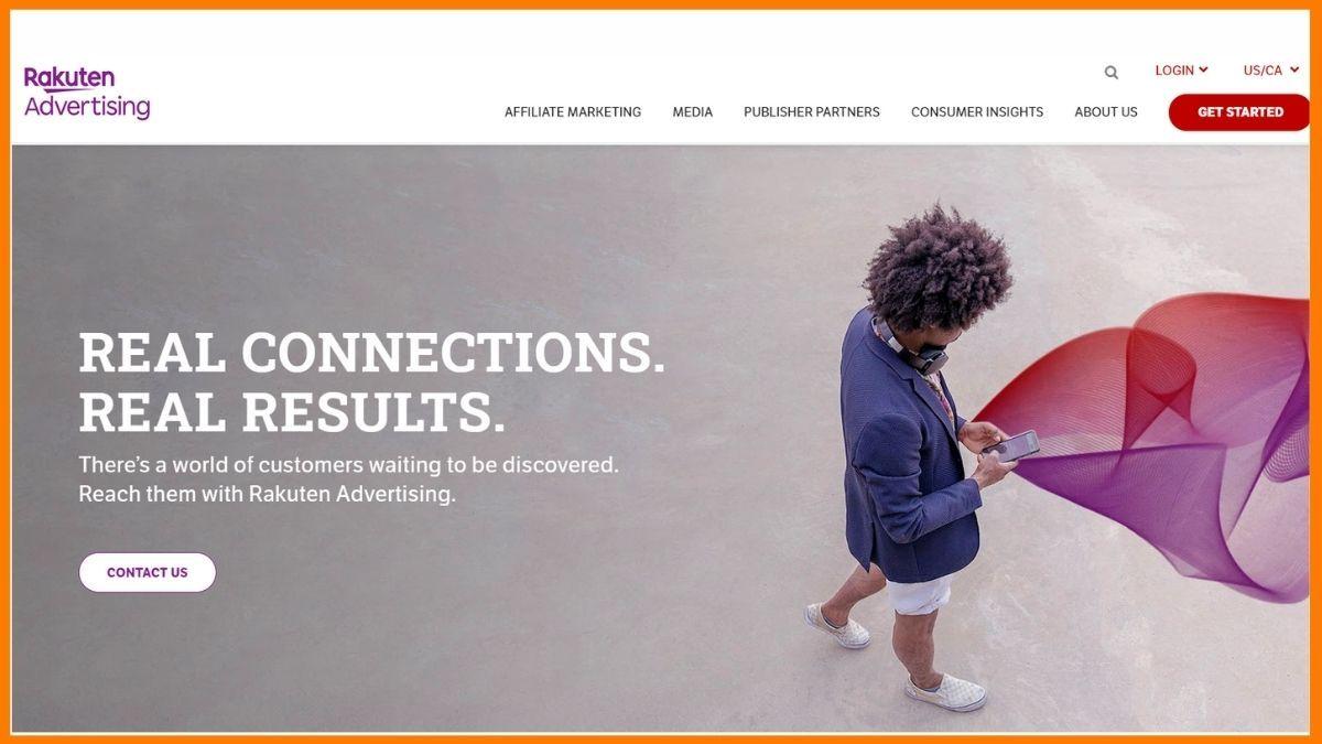 Rakuten Marketing Website