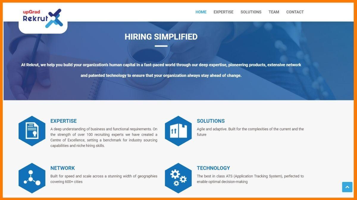 Rekrut Website