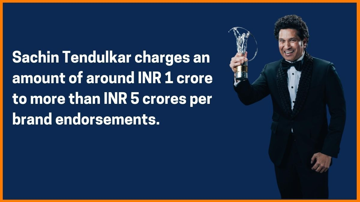 Sachin Tendulkar endorsements