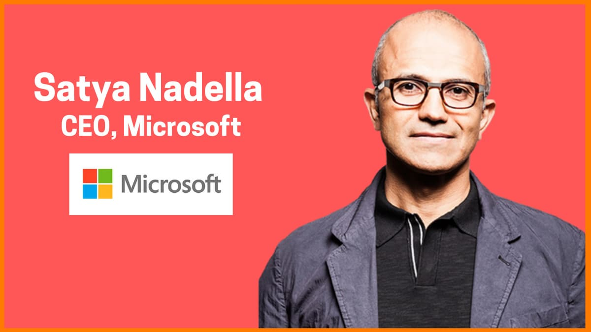 The Story of Satya Nadella—CEO of Microsoft