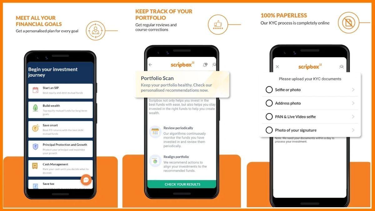 Scripbox Mobile App