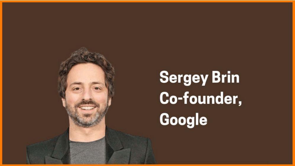Sergey Brin: Co-founder of Google