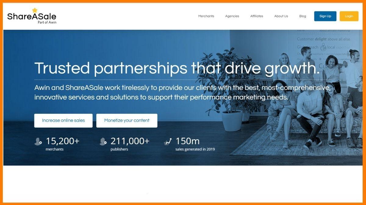 ShareASale Website