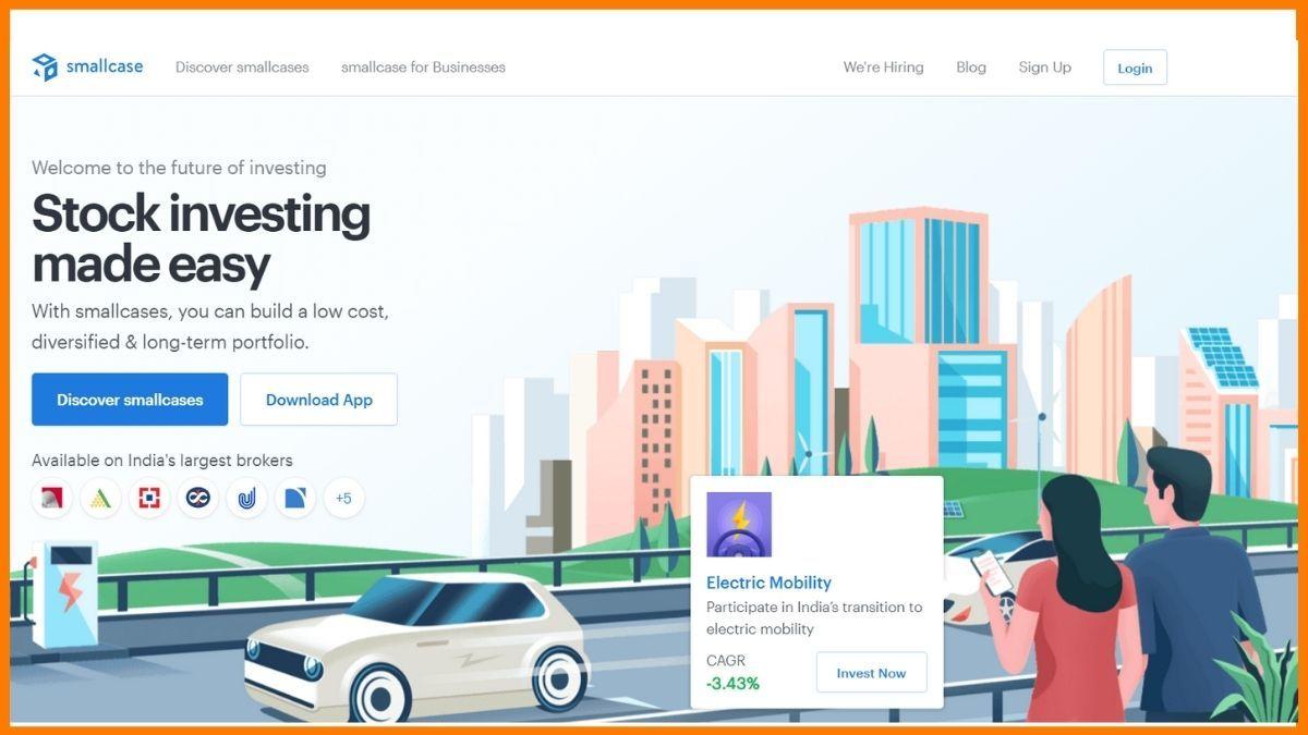 smallcase Website