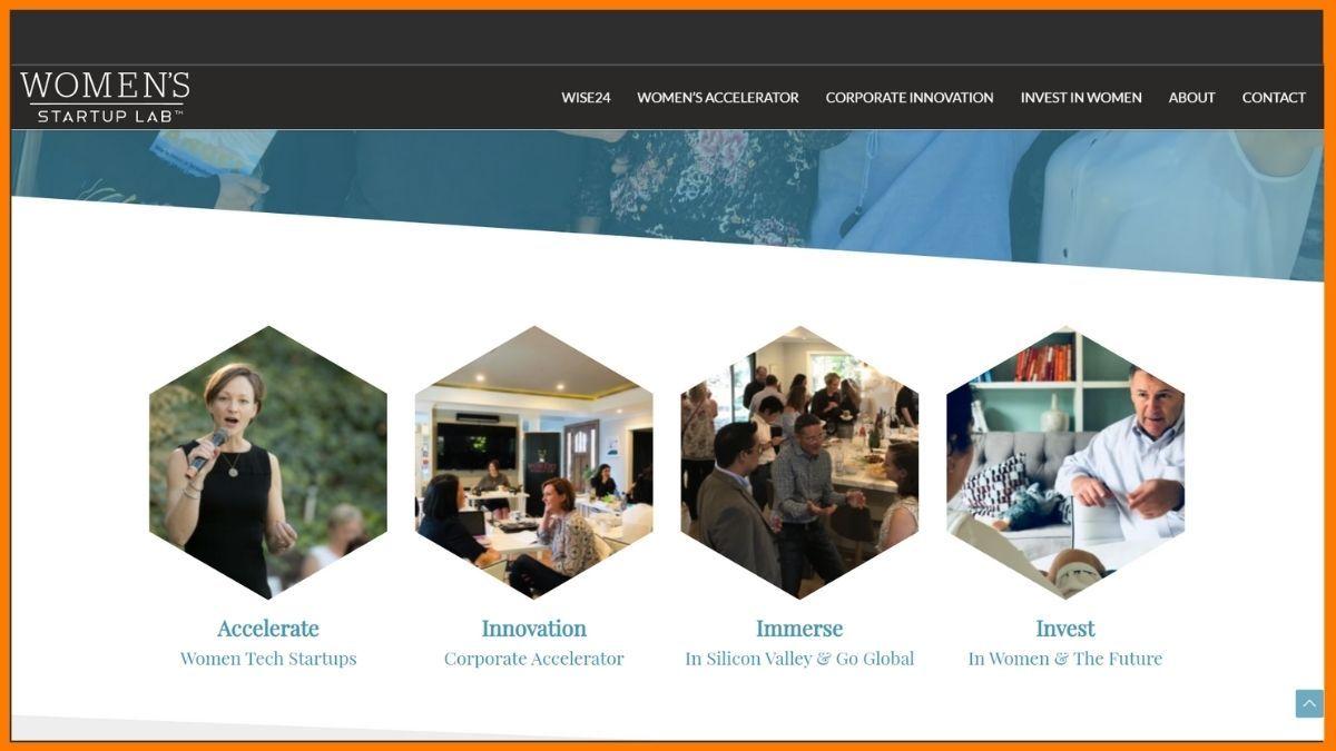 Women's Startup Lab Website