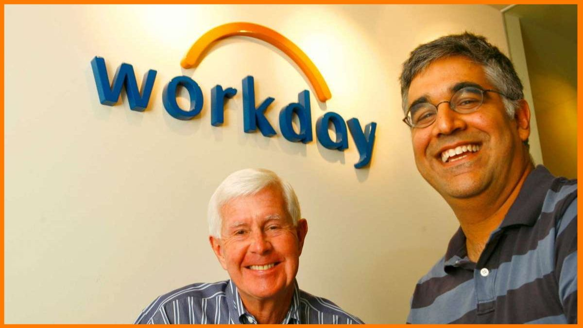 Aneel Bhusri and David Duffield, Workday Founders