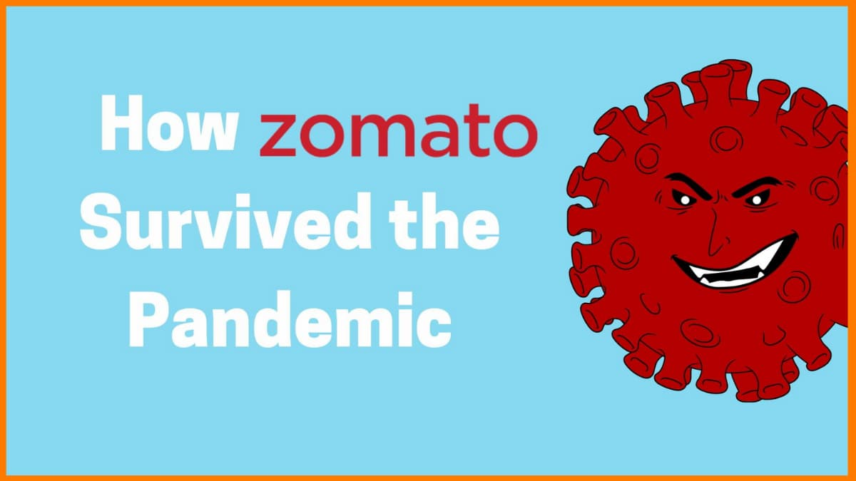 How Zomato Survived the Pandemic-A Case Study