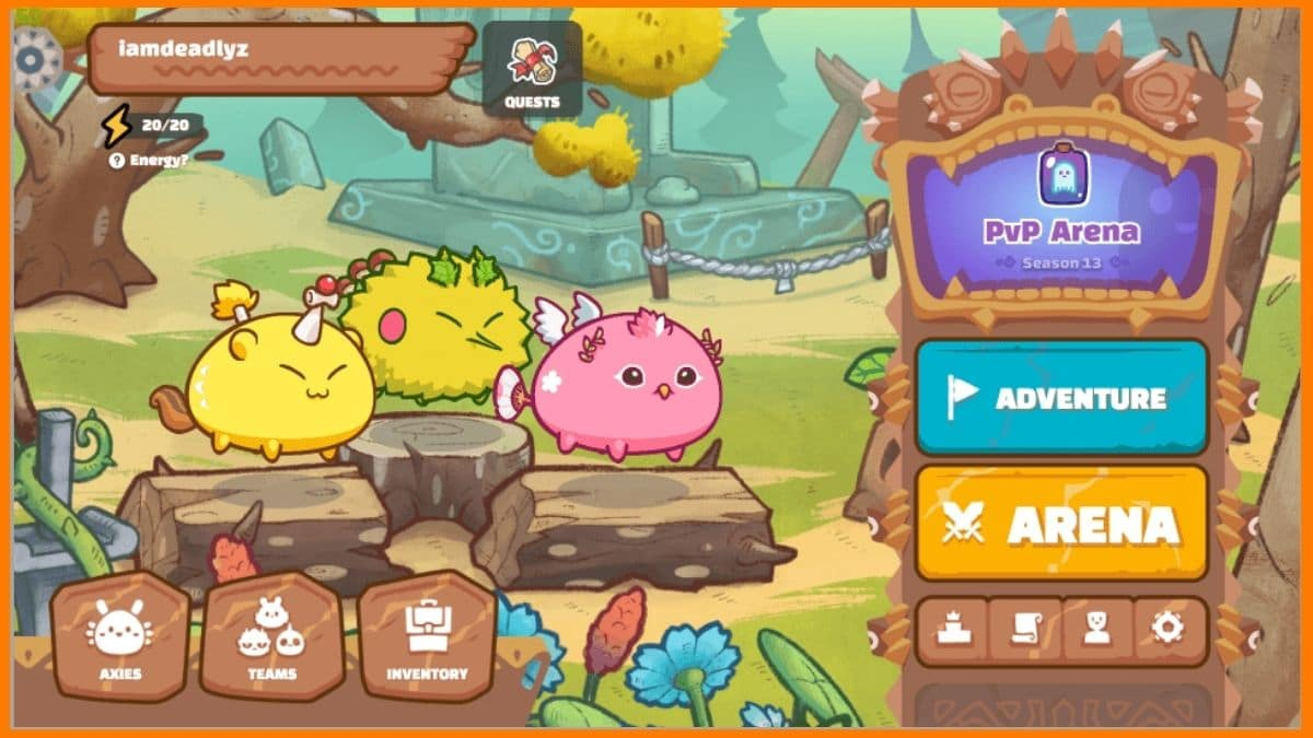 Axie Infinity game