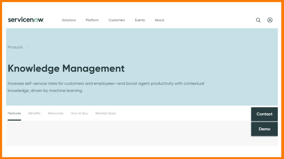ServiceNow   Knowledge Management Tool