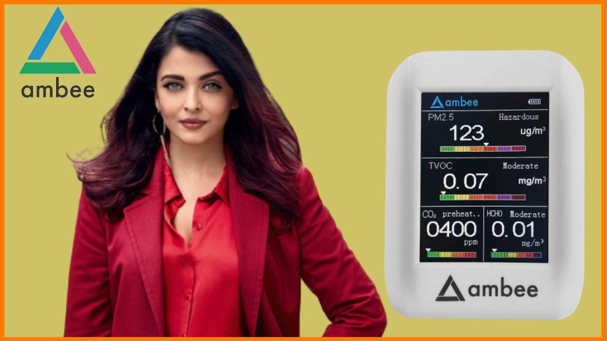 Aishwarya Rai Bachchan and Ambee | Celebrity Investors