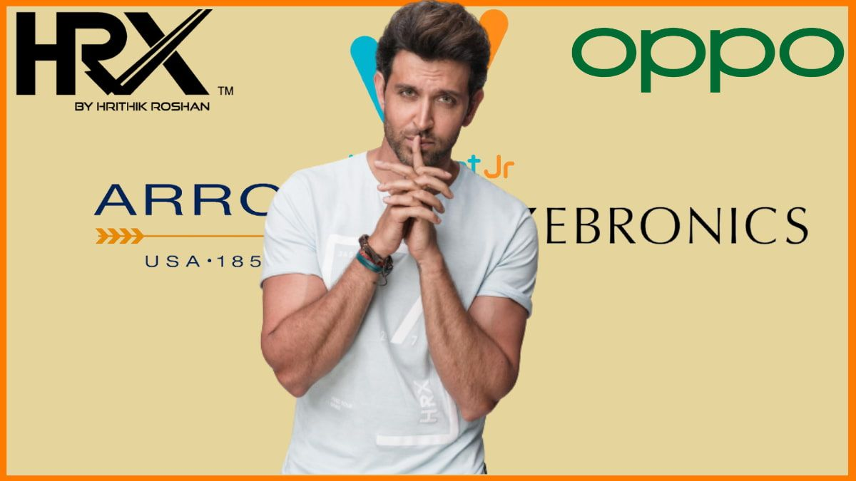 List of Brands Endorsed By Hrithik Roshan