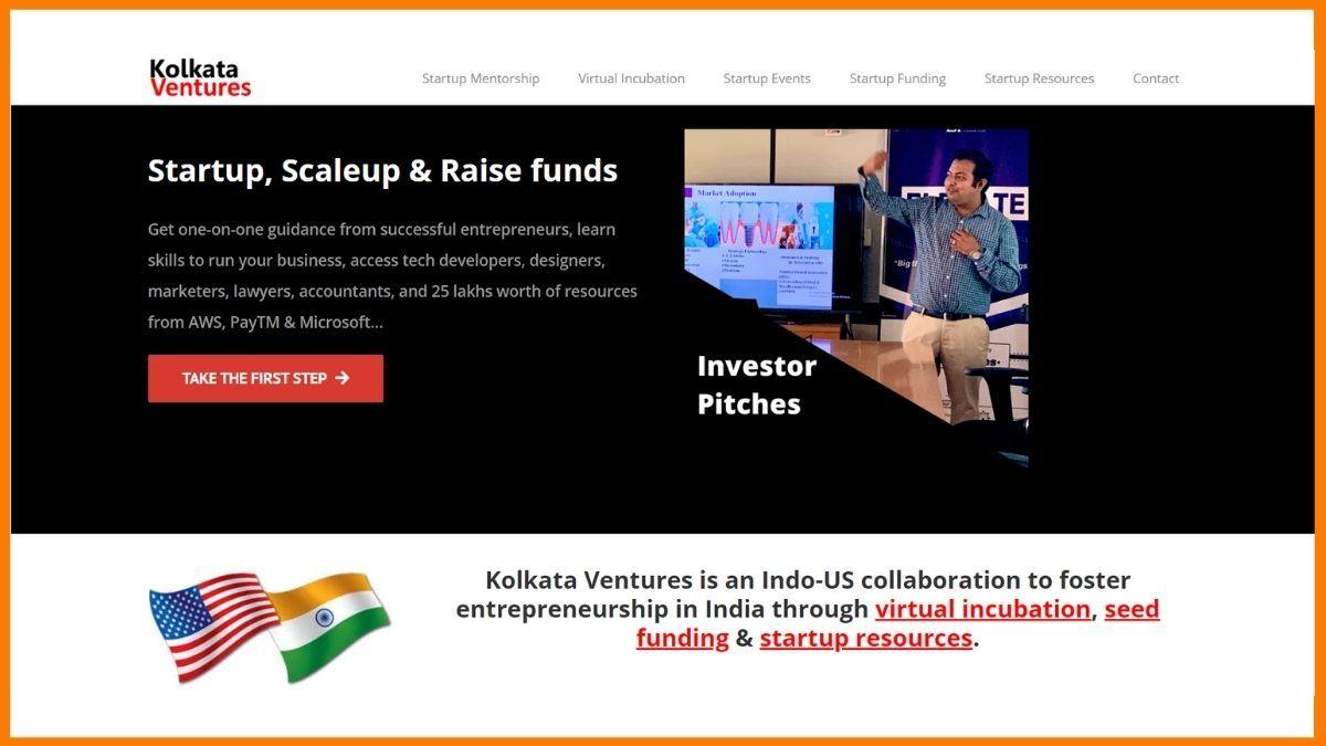 Kolkata ventures Website