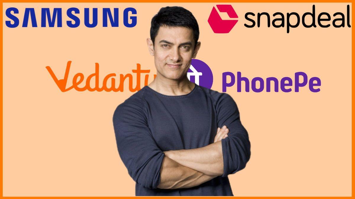 List of Brands Endorsed By Aamir Khan