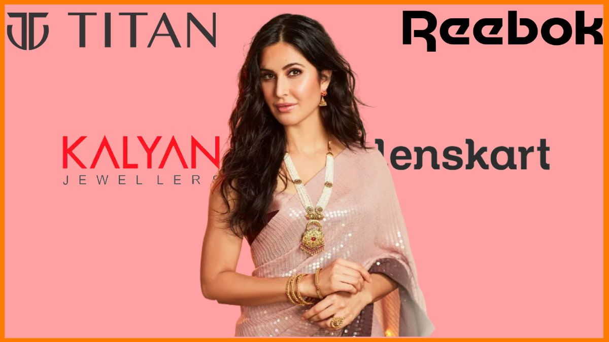 List of Brands Endorsed By Katrina Kaif