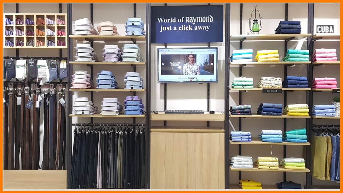 Raymond   Clothing Franchise in India