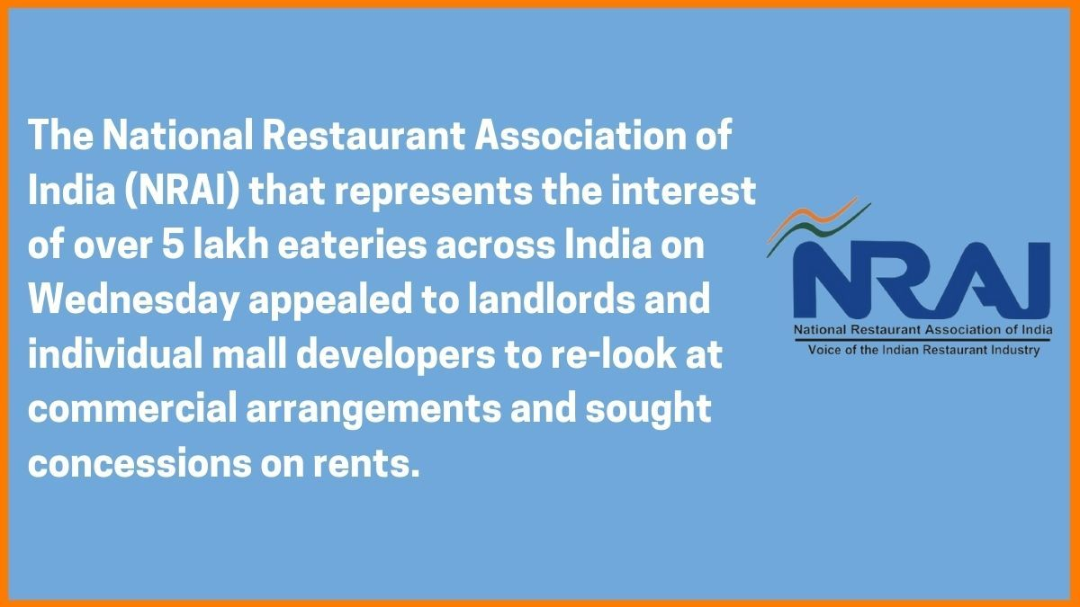 Statement by NRAI