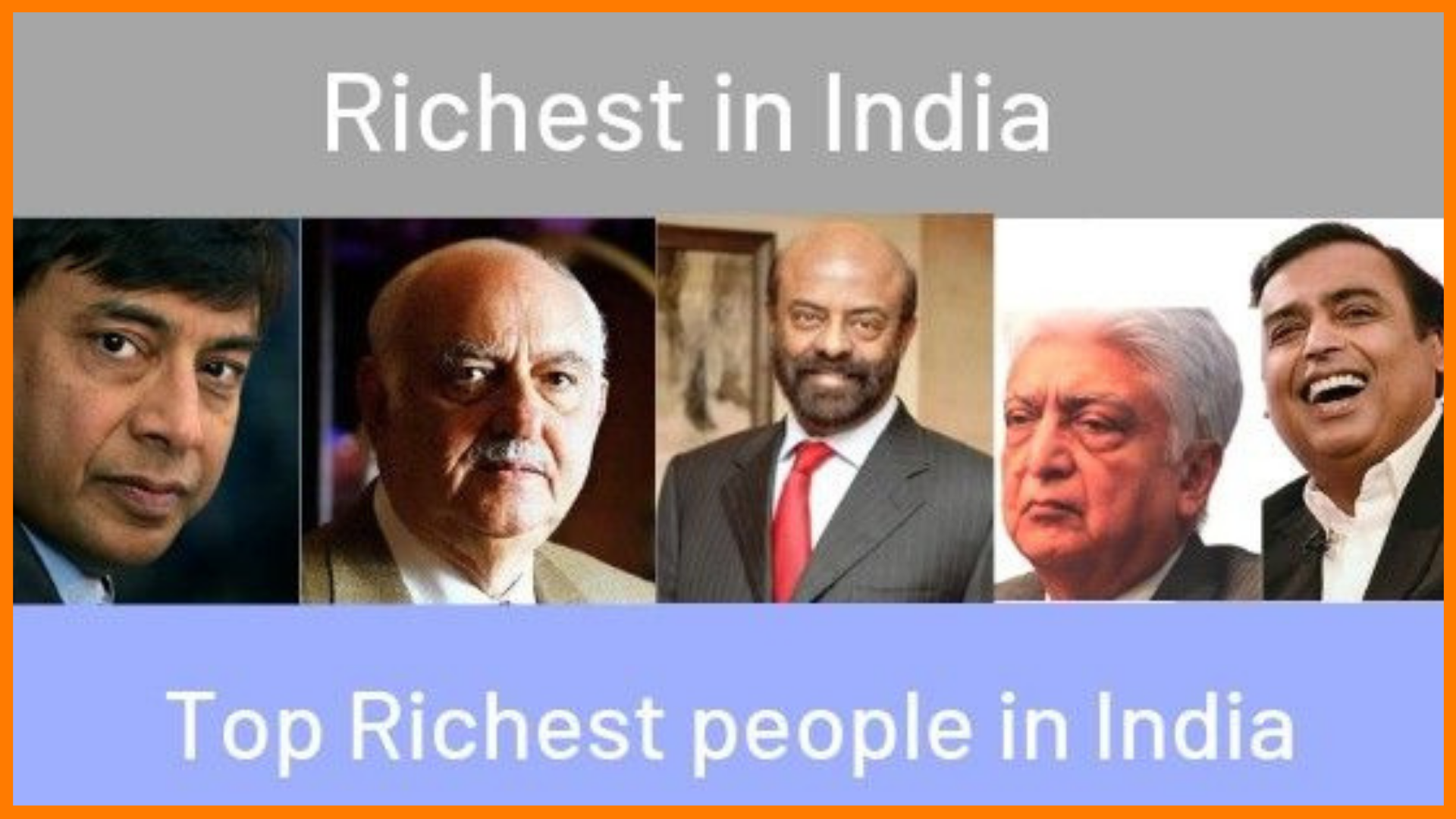 Top 50 Richest Indians In 2020
