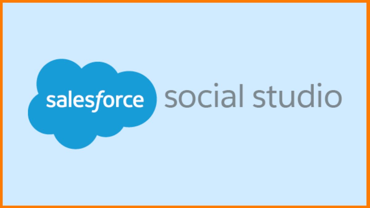 Salesforce social Studio- social media management tool