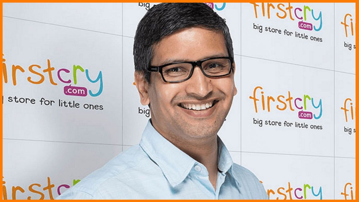 Supam Maheshwari, CEO and Co-founder of FirstCry
