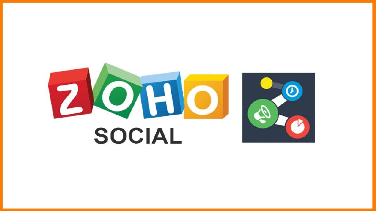 Zoho Social- social media management tool