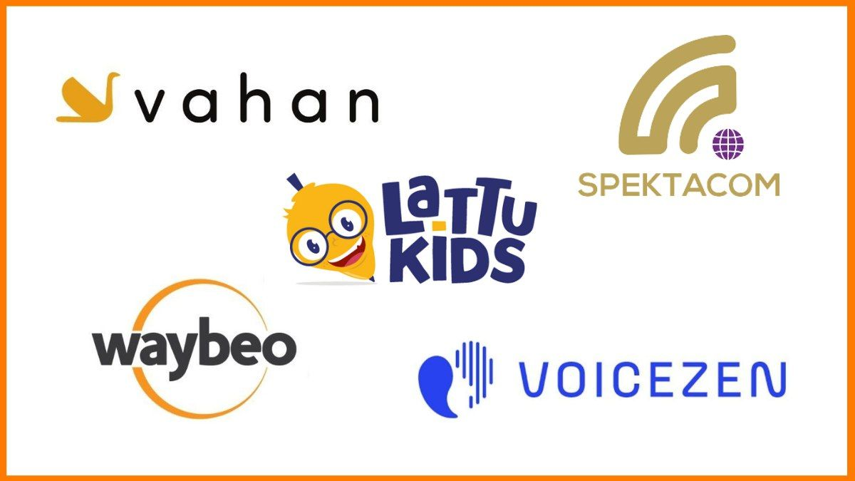 the companies under the airtel startup accelerator program