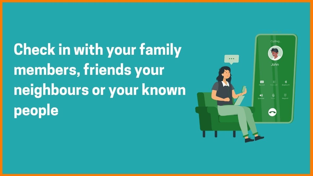 Check in with your Family
