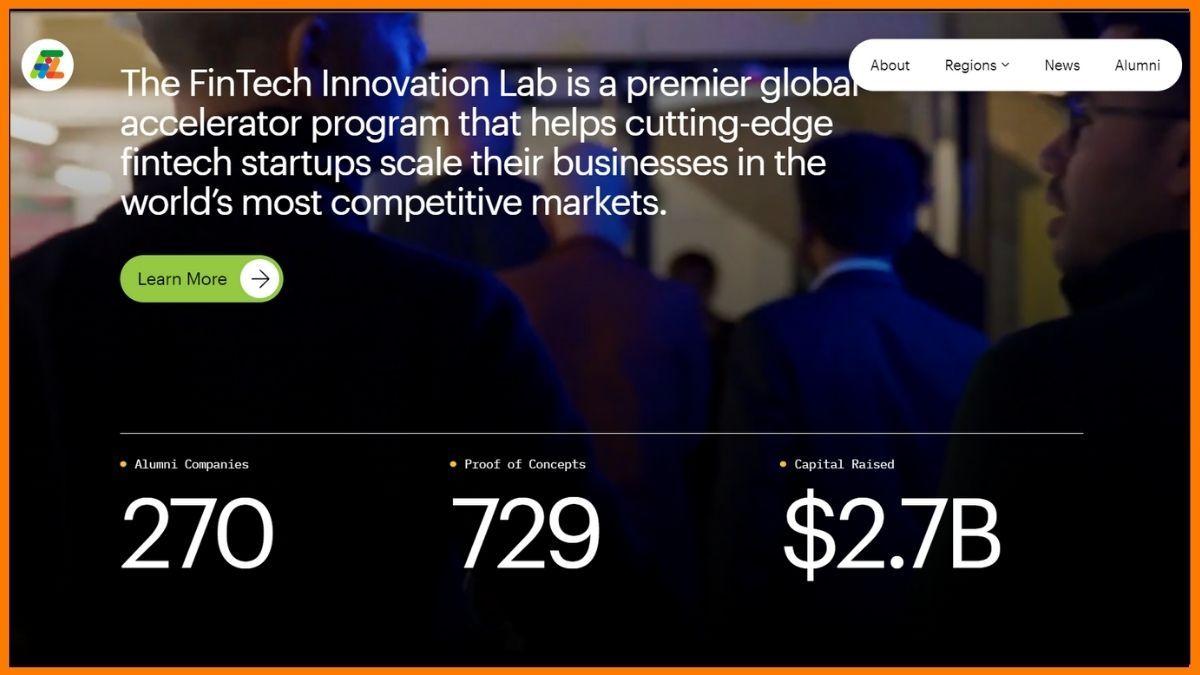 FinTech Innovation Lab Website