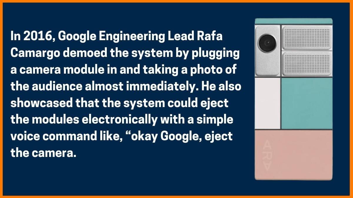 Google Project Ara Showcase