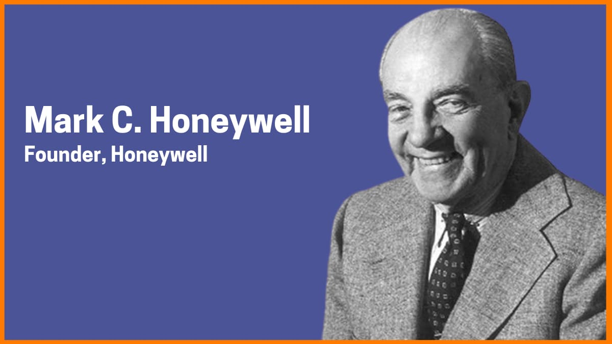 Mark C. Honeywell | Founder of Honeywell