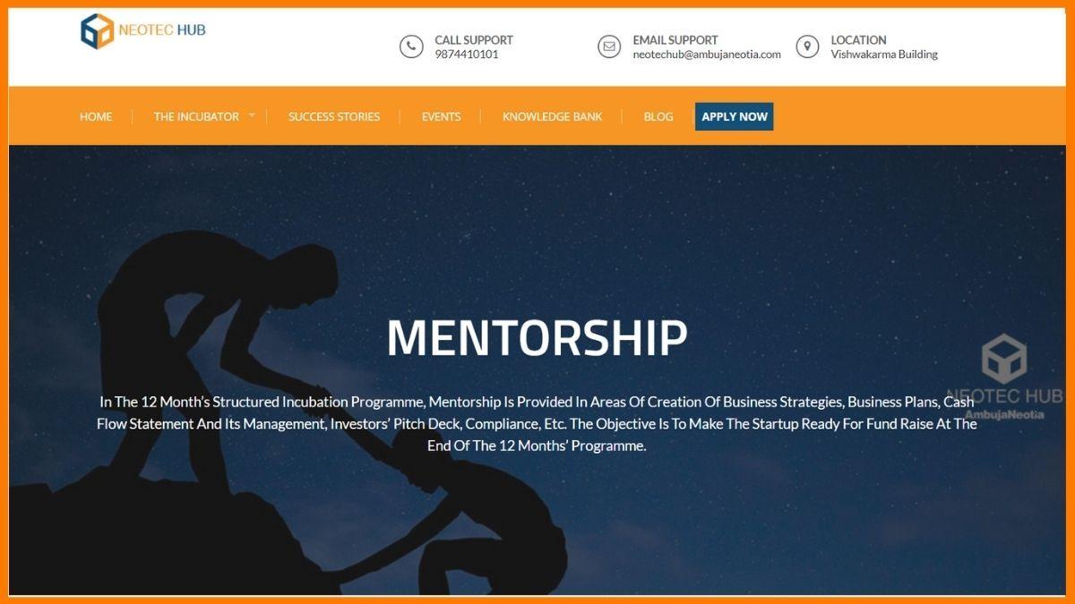 Neotec Hub Website
