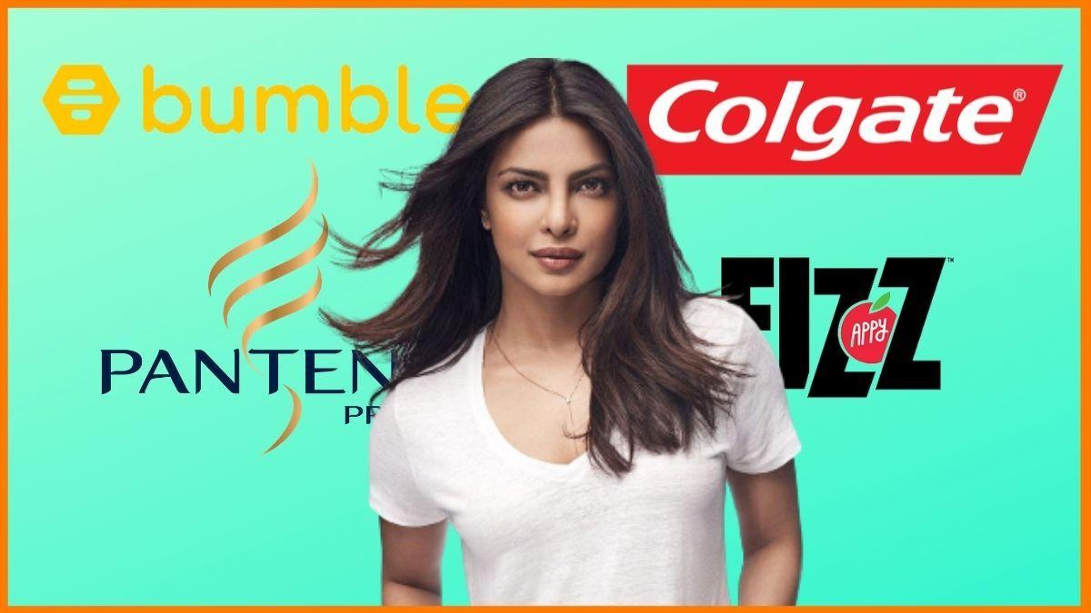 List of Brands Endorsed By Priyanka Chopra